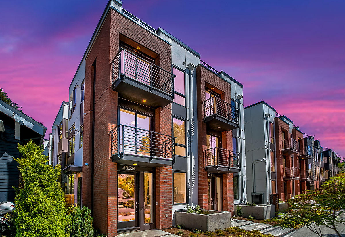 Core 6.1 Townhomes in Capitol Hill Seattle